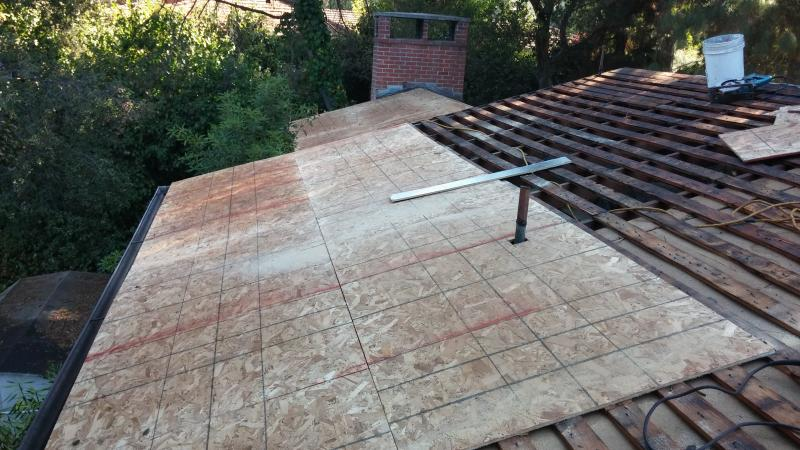 Rivas Roofing Inc Tear Offwhen Tearing Off The Existing